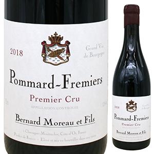 6本~送料無料 ポマール プルミエ [正規販売店] 在庫あり クリュ フレミエ 2018 ベルナール モロー Fremiers 1er Pommard Bernard 750ml 赤 Moreau Cru