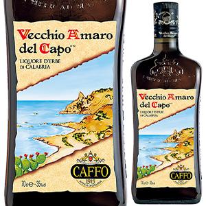 6本~送料無料 ヴェッキオ アマーロ デル カポ NV カッフォ 700ml Del Vecchio 安値 Capo 配送員設置送料無料 Amaro Caffo 甘口リキュール