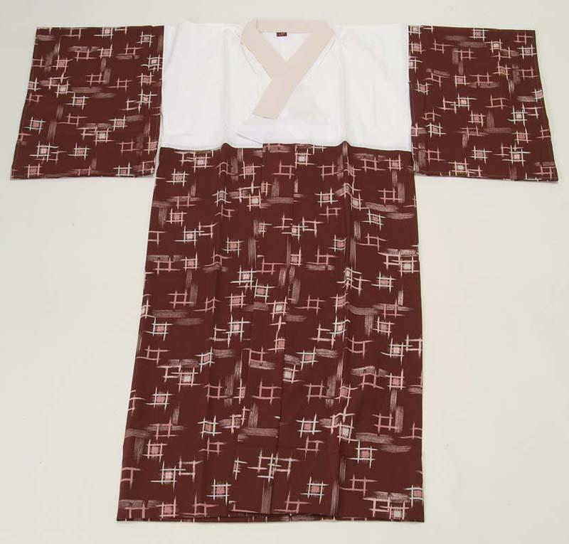 一部式長襦袢 Lサイズ 京六角 女性用 着物 ブランド かわいい おしゃれ 和装 カラー プレゼント トッカ ゲンテイ