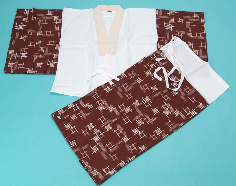 送料無料 二部式長襦袢 京六角 女性用 着物 かわいい おしゃれ 和装 カラー プレゼント