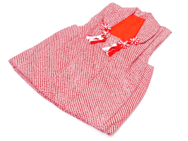 子供用 被布コート 疋田柄 七五三 絹100% かわいい 高級 単品 祝着 ひな祭り wak メール便不可 送料無料 送料込み
