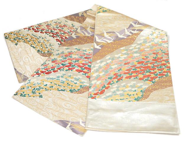 正絹西陣袋帯 京藝謹製 正絹袋帯 訳あり実店舗キャリー在庫 お仕立て代無料 トッカ