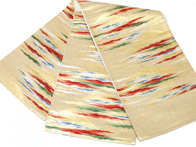 送料無料 お仕立て代無料 正絹 西陣 袋帯 正絹袋帯 訳あり実店舗キャリー在庫