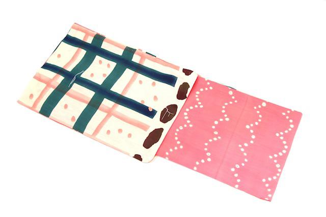 新柄 女性用 ブランド浴衣 ピンク×クリーム ツモリチサト tsumorichisato 女物 夏 祭り 浴衣セット レディース レトロ 通販 女 浴衣帯 下駄 浴衣3点セット(3点セット)にも対応 トッカ