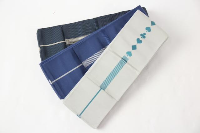 送料無料 西村織物謹製 本場筑前博多織 悦 男物 角帯 ハカマ帯 袴用OK 浴衣から着物まで幅広く使えます。