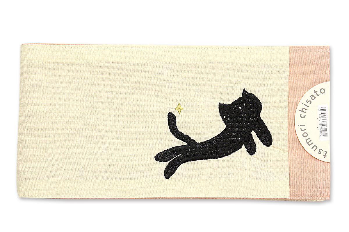 お気にいる 送料無料 tsumori chisato メール便不可 浴衣帯 半幅 ゆかた ツモリチサト chisato ユカタ 女性 猫 ネコ 花火大会 デート レディース 女性 可愛い メール便不可, 宅配マイスター:e12dcd8b --- tonewind.xyz