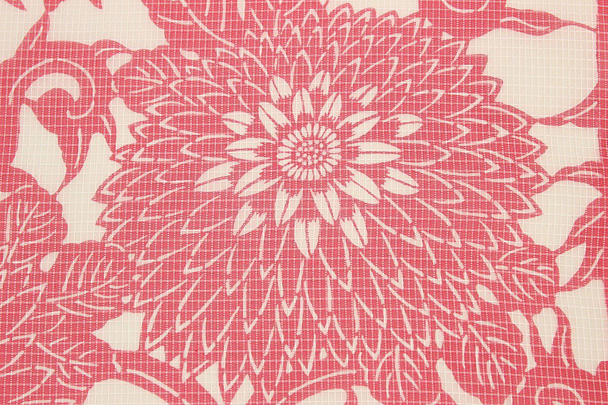 ◆受注生産◆ 竺仙 浴衣反物 女物 絹紅梅 紅梅小紋 生地 ブランド 小幅 夏着物 上品 女浴衣 ゆかた レトロ ロマン 古典柄 流行に左右されない 日本製 ちくせん浴衣 h26no.9523