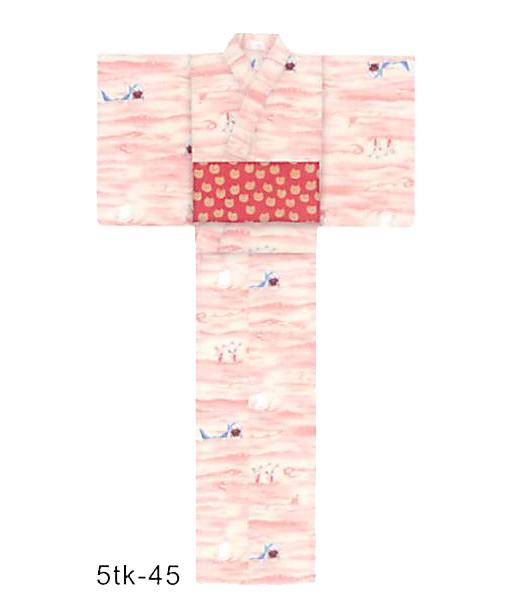 送料無料 tsumori chisato 新作夏きもの なつの海(ピンク) プレタ(仕立て上がり) ポリエステル100% セオα 縫製済 ツモリチサト ゆかた ユカタ 花火大会 デート 着付け レディース浴衣 女性 高級 可愛い メール便不可