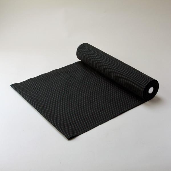 縞紬 S-17 -春草(はるくさ)- 木綿反物 送料無料 送料込み