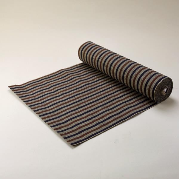 縞紬 S-31 -木立(こだち)- 木綿反物 送料無料 送料込み