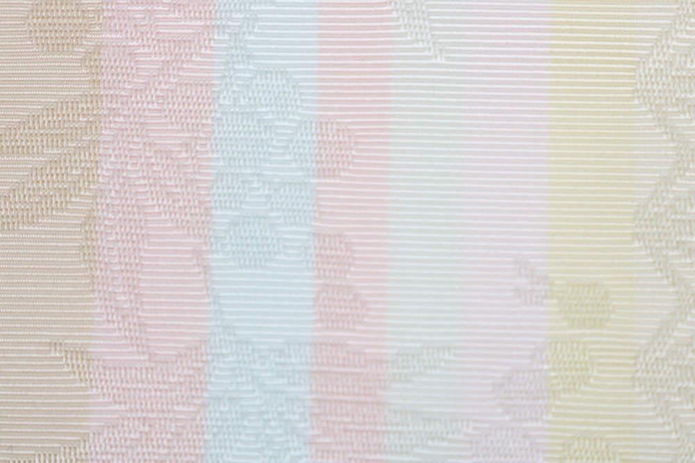 2a959757d9d5a Kimono shop ※ Yellow cream pink light blue black dark blue purplish red  vermilion pink home Chikuzen made in pure silk fabrics Hakata fabrics ...