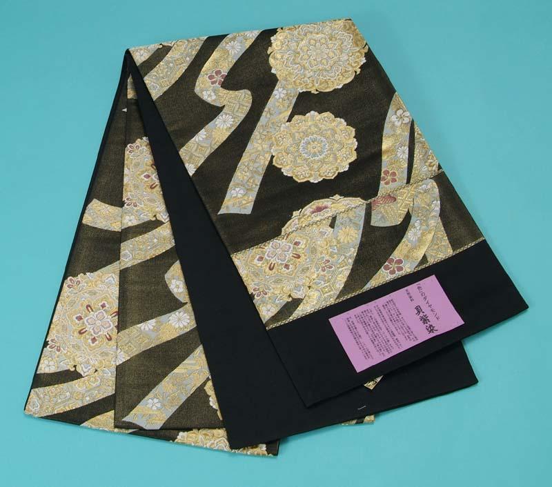 訳あり特価 袋帯 西陣織 (貝紫染め) トッカ
