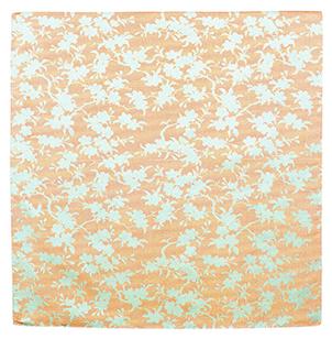 むす美 70唐長 正絹紋織 枝桜 ハザクラ 取り寄せ商品 むす美 musubi 掲載 和小物 風呂敷 シルクジャガード織 ポイント20倍 メール便不可
