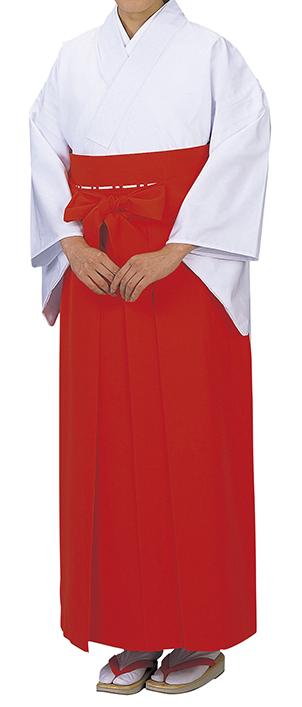 神寺用衣裳 神職用白衣 年印 白 取り寄せ商品 日本の踊り 掲載 白衣 寺 神社《女性用 レディース 洗える着物》 ポイント20倍 ポイント20倍