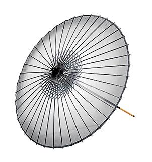 踊り衣裳 絹舞傘 継ぎ柄 桑印 グレー 二本継ぎ 取り寄せ商品 日本の踊り 掲載 和雑貨 和風小物 稽古 習い事 舞踊 民謡 発表会《男性用 女性用 メンズ レディース》 ポイント20倍