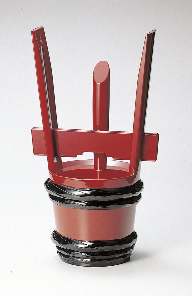 踊り衣裳 酒の器 椹・漆角だる 樽印 1.5升用 取り寄せ商品 日本の踊り 掲載 角樽 つのだる ポイント20倍 メール便不可