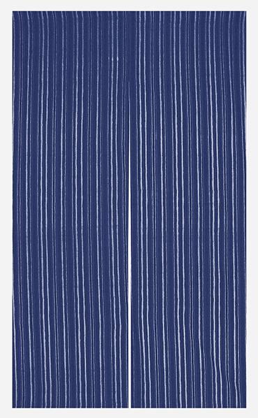 踊り衣裳 藍染のれん 藍印 京縞 取り寄せ商品 日本の踊り 掲載 のれん 暖簾 和雑貨 和風小物 《料亭 和食店 居酒屋 キッチン 台所》 ポイント20倍 送料無料 送料込み