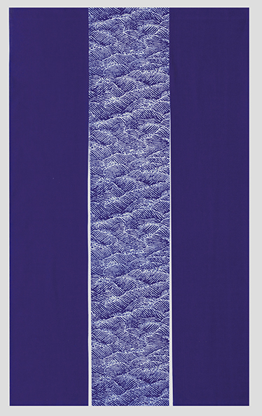 踊り衣裳 藍染のれん 藍印 白波三連 取り寄せ商品 日本の踊り 掲載 のれん 暖簾 和雑貨 和風小物 《料亭 和食店 居酒屋 キッチン 台所》 ポイント20倍 送料無料 送料込み
