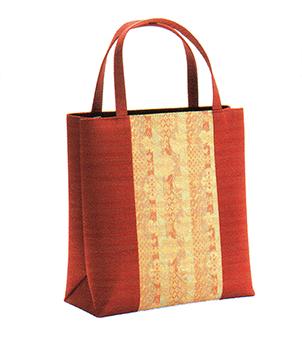 有職 和装小物 トートバッグ(No.31型) 朱 有職 YU-SOKU 掲載 着物 バッグ 和装小物 女性 レディース ポイント20倍