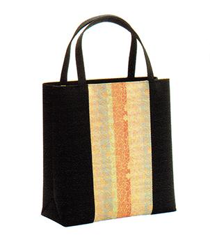 有職 和装小物 トートバッグ(No.31型) 黒 有職 YU-SOKU 掲載 着物 バッグ 和装小物 女性 レディース ポイント20倍