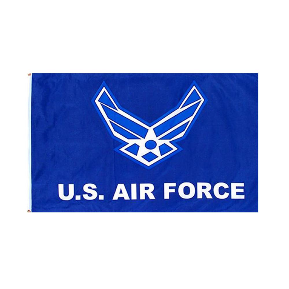 部屋のインテリアやイベントのぼり 応援旗などに アメリカンフラッグ ミリタリー USエアフォース 開店記念セール フラッグ メール便可 Air 3×5ft New U.S. 安心の定価販売 Flag Force 150×90cm