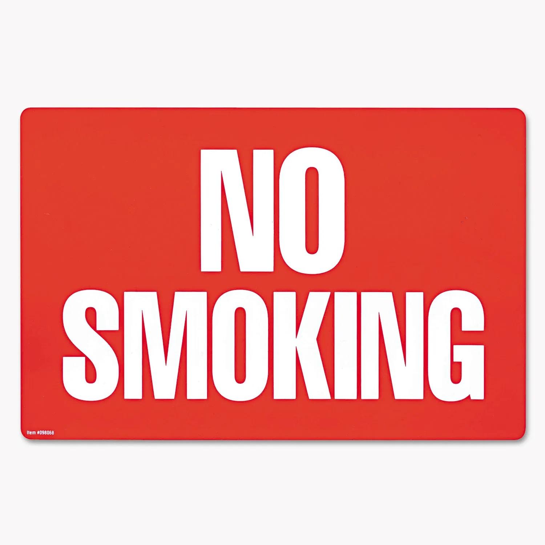 店舗やショップ 送料0円 倉庫 全品最安値に挑戦 ガレージ 事務所に貼れるノースモーキング看板 COSCO No-smokingサイン 禁煙看板 限定セール