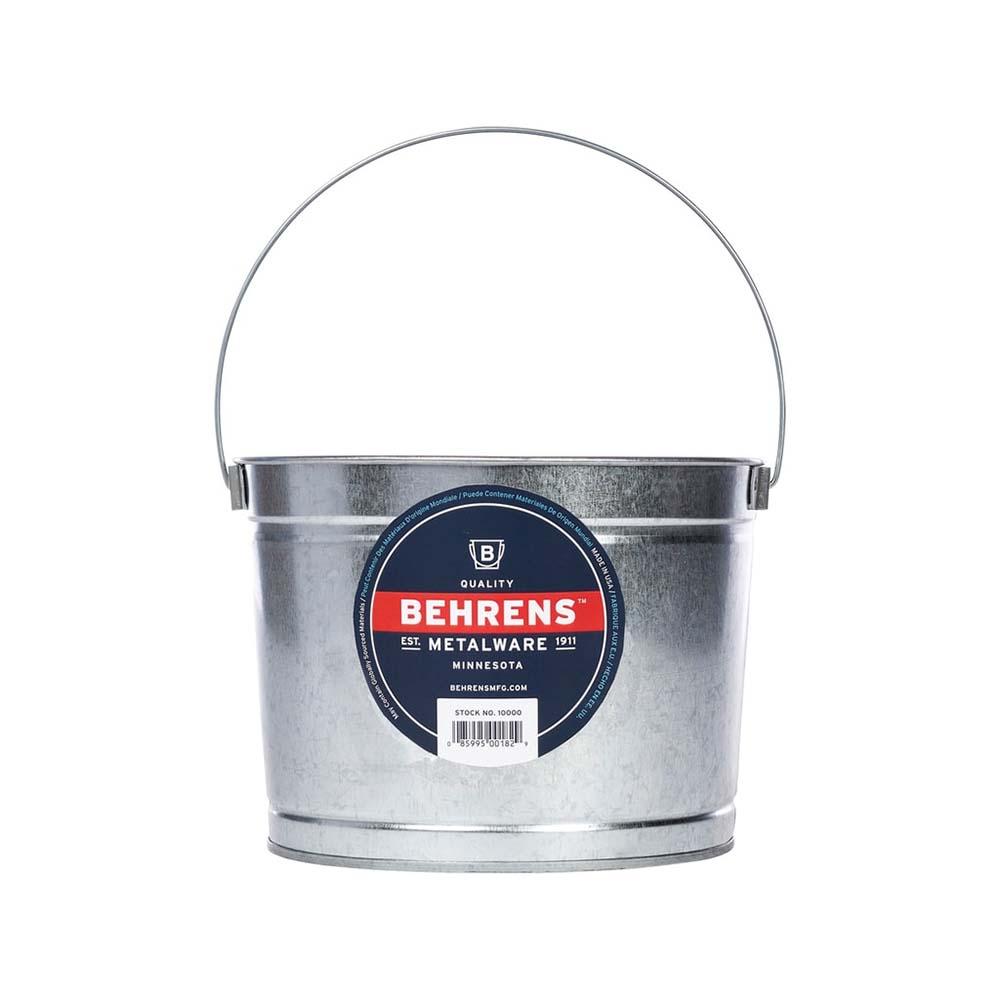 おしゃれなスチール製バケツ ペイント作業や掃除にも 品質検査済 正規認証品 新規格 BEHRENS スチール製バケツ 5クォートペイントペール ベーレンス