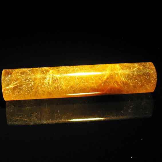 ルチルクォーツ 印材 水晶 12mm 147-11
