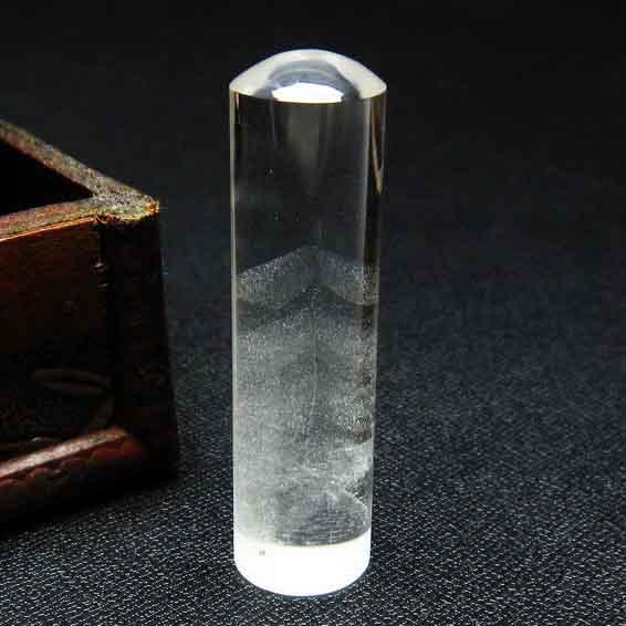スーパーファントム 印材 水晶 ファントム 16mm 147-35