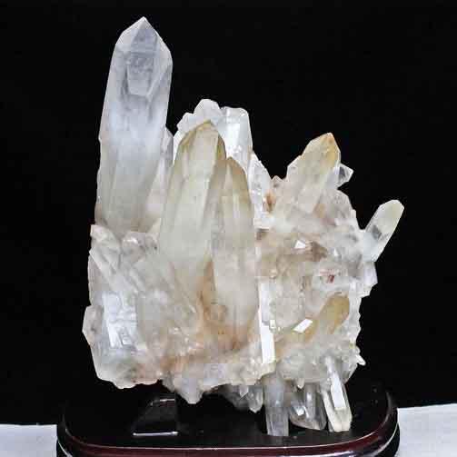 3.9Kg 水晶 クラスター クリスタルクォーツ 原石 レムリアンシード [送料無料] 292-13
