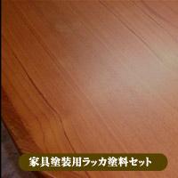 家具塗装用ラッカー塗料セット