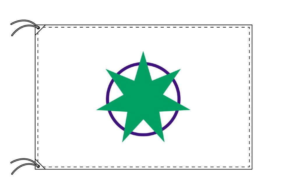 青森市の市旗(青森県・県庁所在地)(サイズ:90×135cm)テトロン製・日本製
