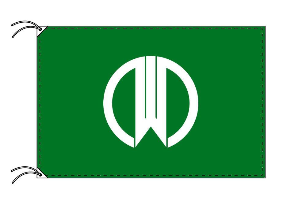 山形市の市旗(山形県・県庁所在地)(サイズ:120×180cm)テトロン製・日本製