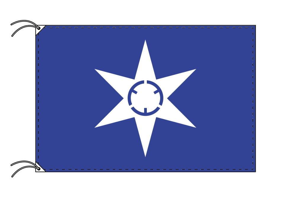 水戸市の市旗(茨城県・県庁所在地)(70×105cm)テトロン製・日本製