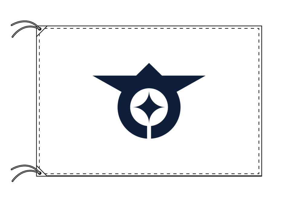 大田区 区旗(100×150cm・東京都23区・テトロン製・日本製)