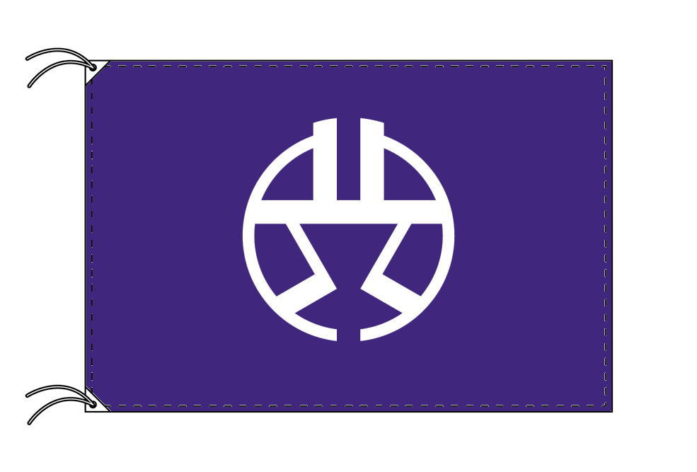 渋谷区 区旗(90×135cm・東京都23区・テトロン製・日本製)