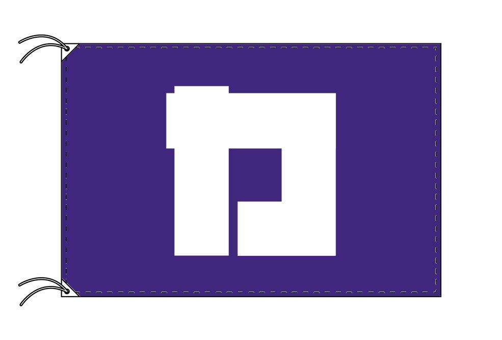 葛飾区 区旗(100×150cm・東京都23区・テトロン製・日本製)