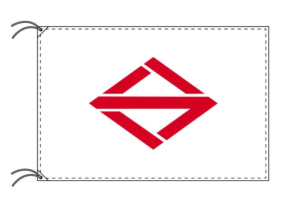 横浜市の市旗(神奈川県・県庁所在地)(サイズ:100×150cm)テトロン製・日本製