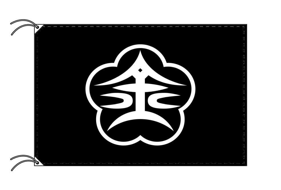 金沢市の市旗(石川県・県庁所在地)(サイズ:100×150cm)テトロン製・日本製