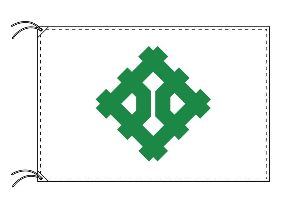 福井市の市旗(福井県・県庁所在地)(サイズ:120×180cm)テトロン製・日本製