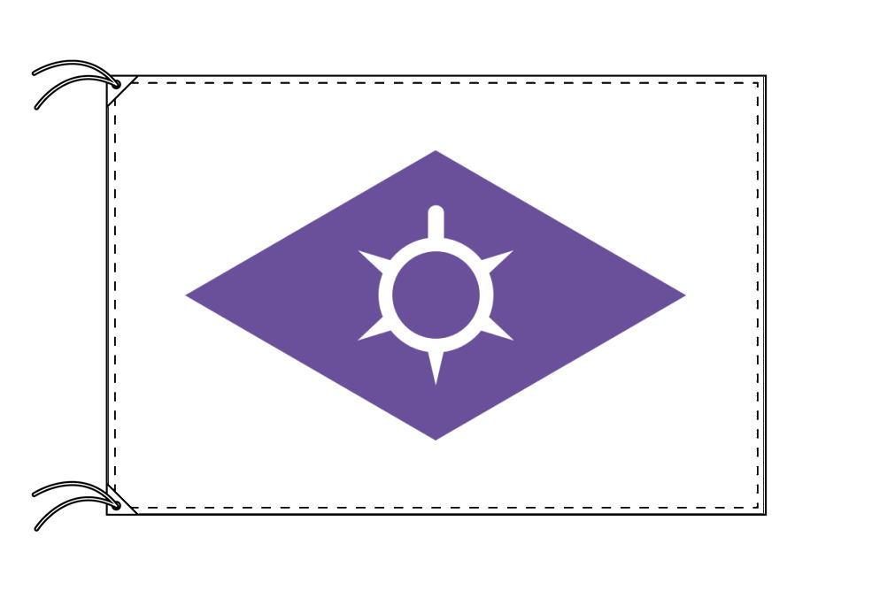 甲府市の市旗(山梨県・県庁所在地)(サイズ:90×135cm)テトロン製・日本製