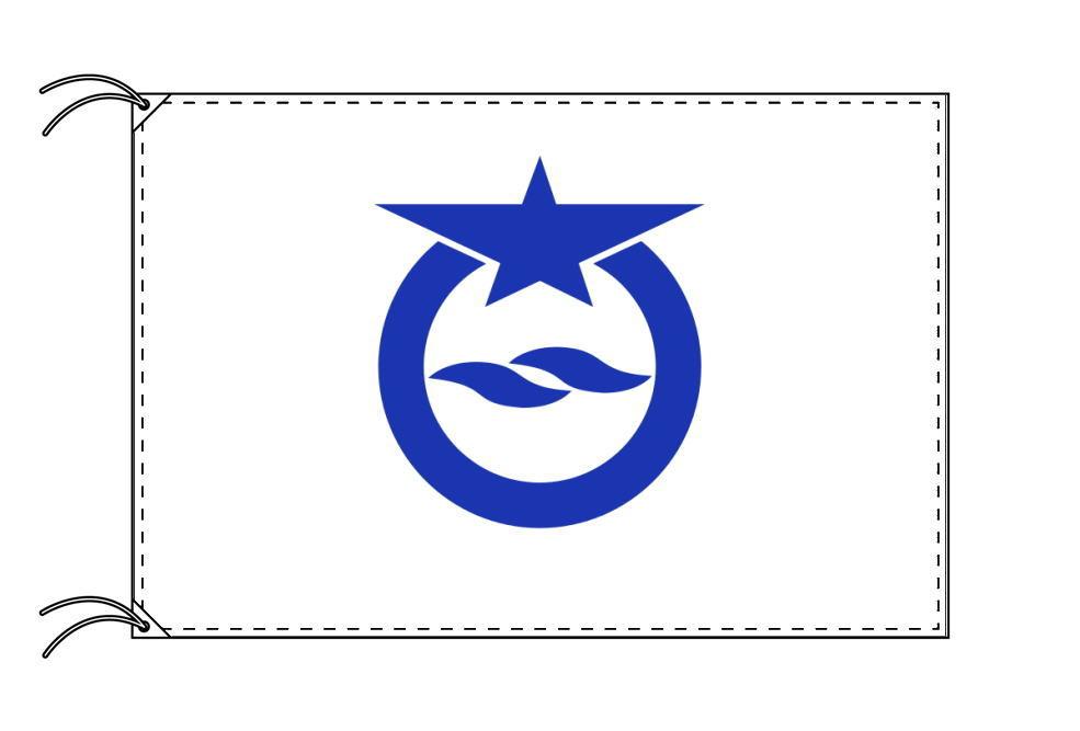大津市の市旗(滋賀県・県庁所在地)(サイズ:100×150cm)テトロン製・日本製