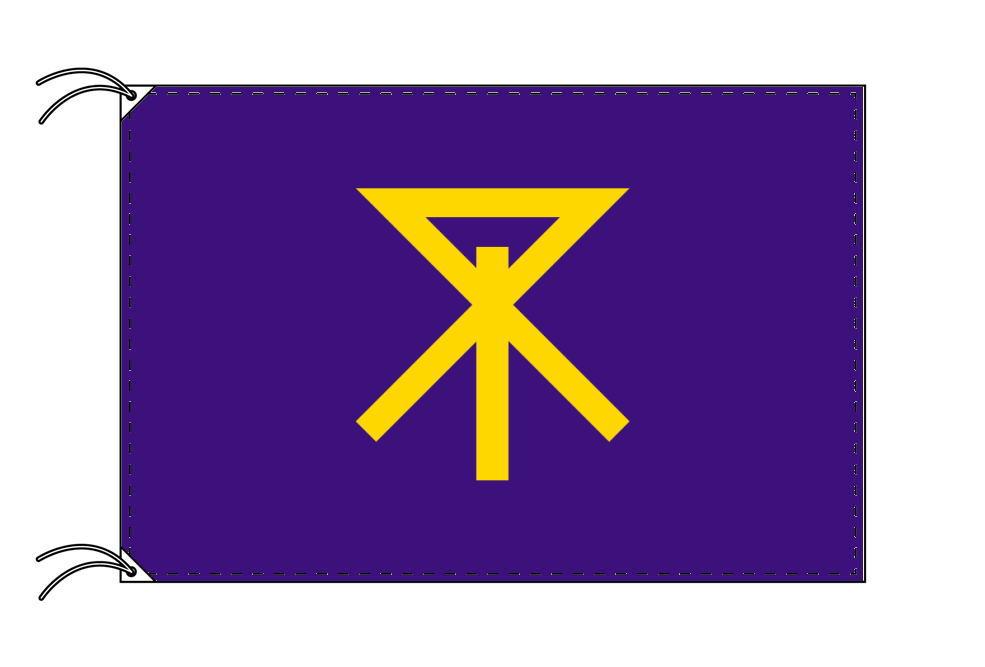 大阪市の市旗(大阪府・府庁所在地)(サイズ:100×150cm)テトロン製・日本製
