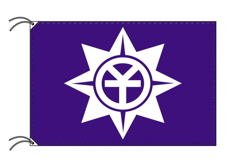 岡山市の市旗(岡山県・県庁所在地)(サイズ:90×135cm)テトロン製・日本製