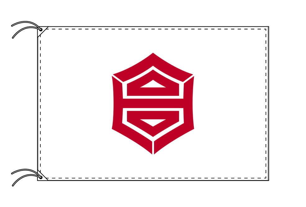 高知市の市旗(高知県・県庁所在地)(サイズ:90×135cm)テトロン製・日本製