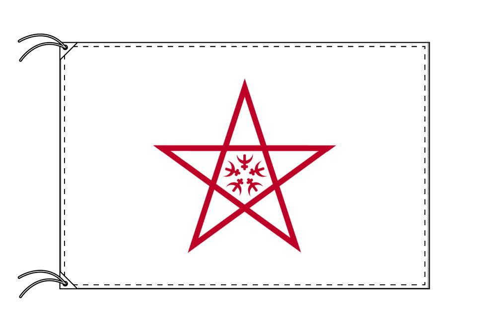 長崎市の市旗(長崎県・県庁所在地)(サイズ:90×135cm)テトロン製・日本製