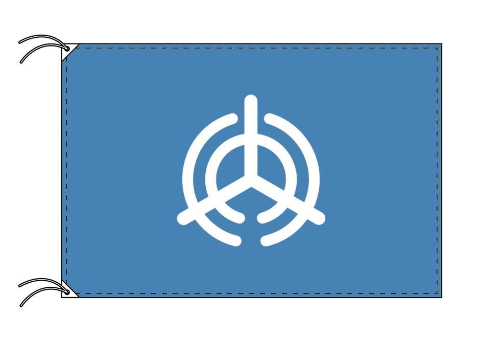 大分市の市旗(大分県・県庁所在地)(サイズ:90×135cm)テトロン製・日本製