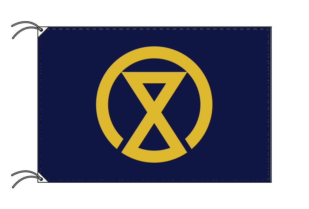 宮崎市の市旗(宮崎県・県庁所在地)(サイズ:90×135cm)テトロン製・日本製