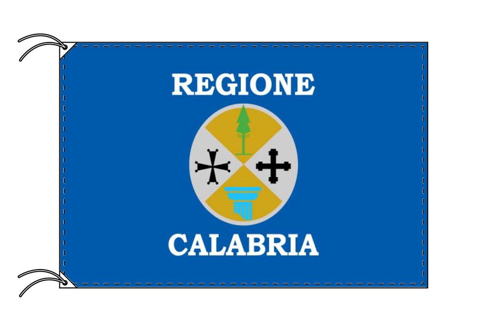 イタリア・州旗 カラブリア州(90×105cm・高級テトロン製・日本製)