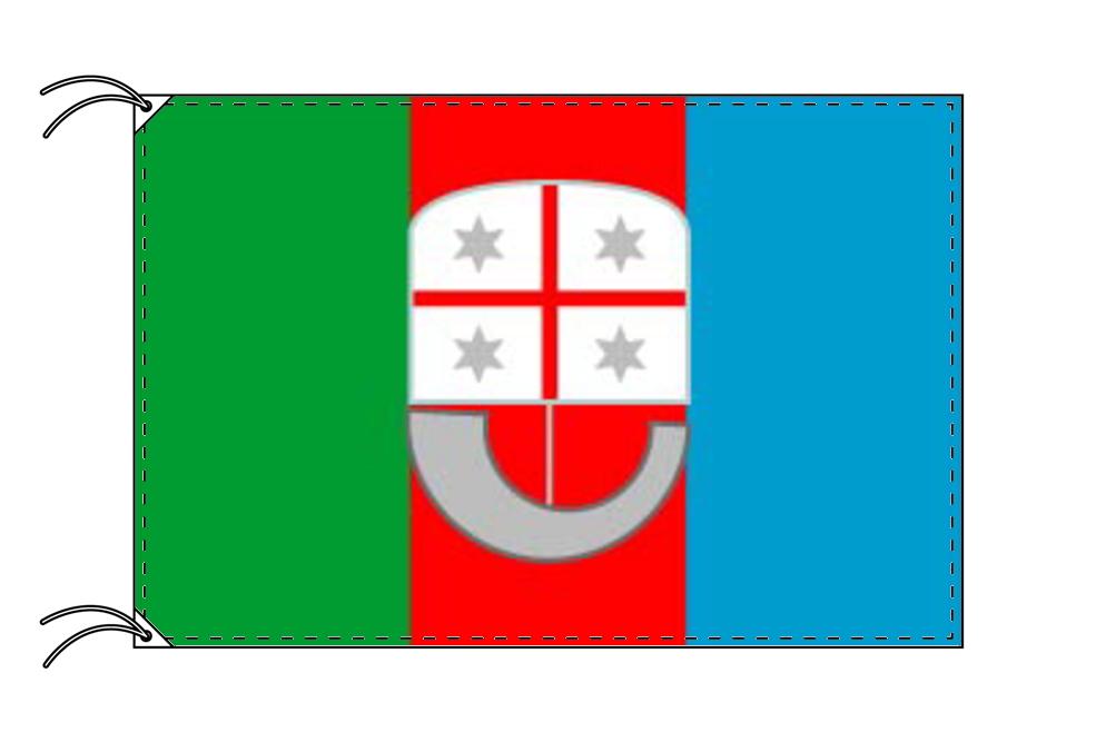 イタリア・州旗 リグーリア州(100×105cm・高級テトロン製・日本製)